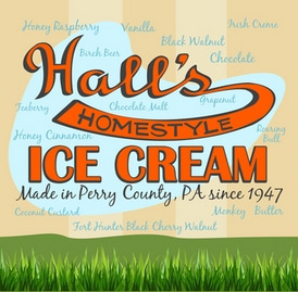 halls ice cream